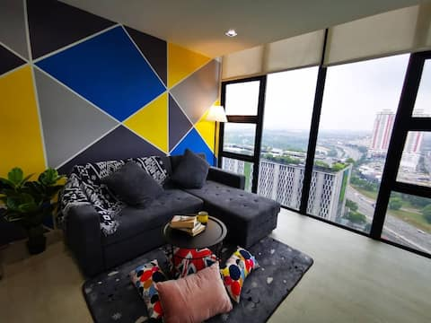 Cozy Homestay, 2R2B@The Square of One City Mall