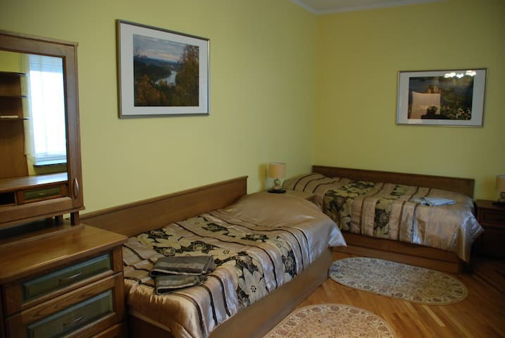 Комната с отдельными кроватями - Vilna