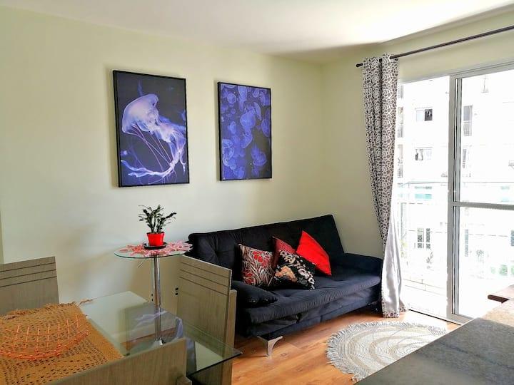 Apartamento Aconchegante USP & Villa Lobos