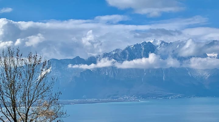 Swiss-break in the beautiful Montreux Riviera