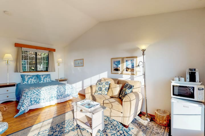 Dog-friendly oceanfront suite w/ beautiful views and cheery decor!