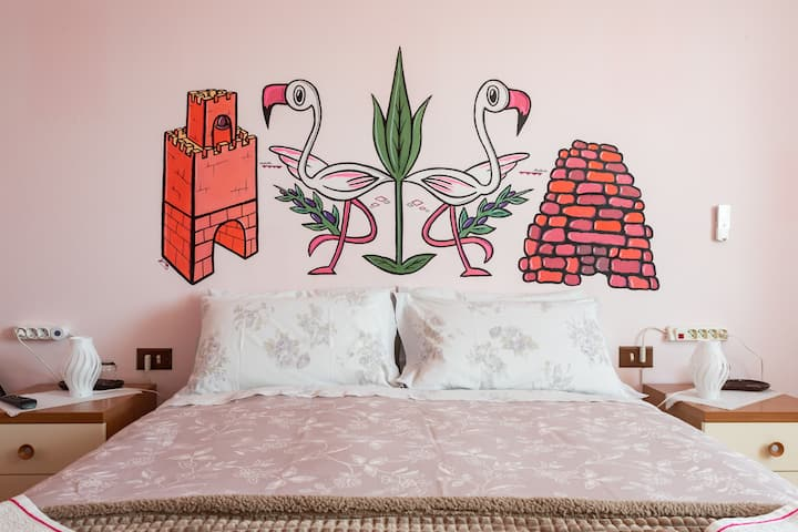 B&B Il Mirto Pink Room