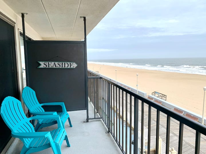 DirectOceanFront on Boardwalk/Newly Remodeled/Pool