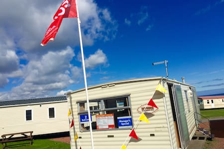 6 Berth Caravan with sea view - Blackhall Colliery - Overig