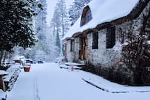 A Winter's Day at the Lodge.