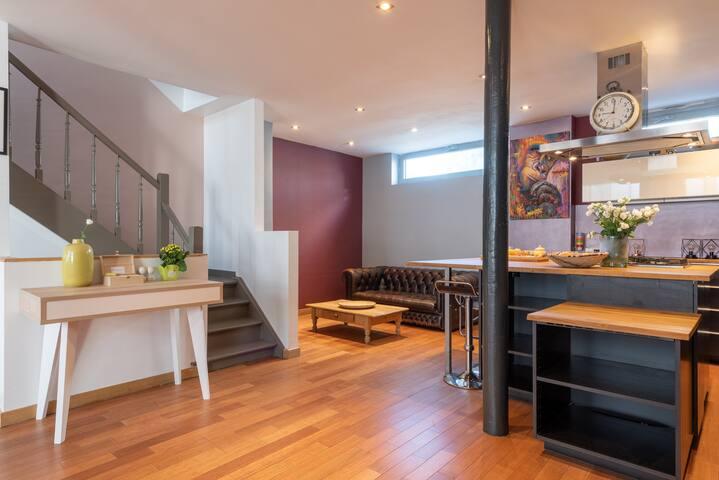 Sunny Loft House - Brussels EU Area