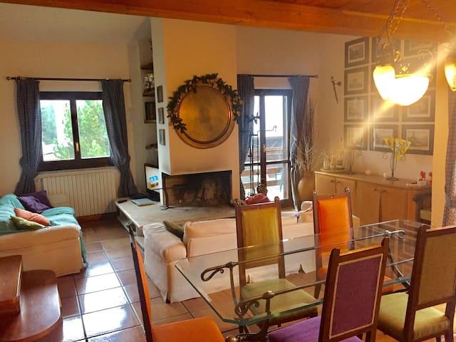 Lussuosa mansarda al palaghiaccio - Roccaraso - อพาร์ทเมนท์