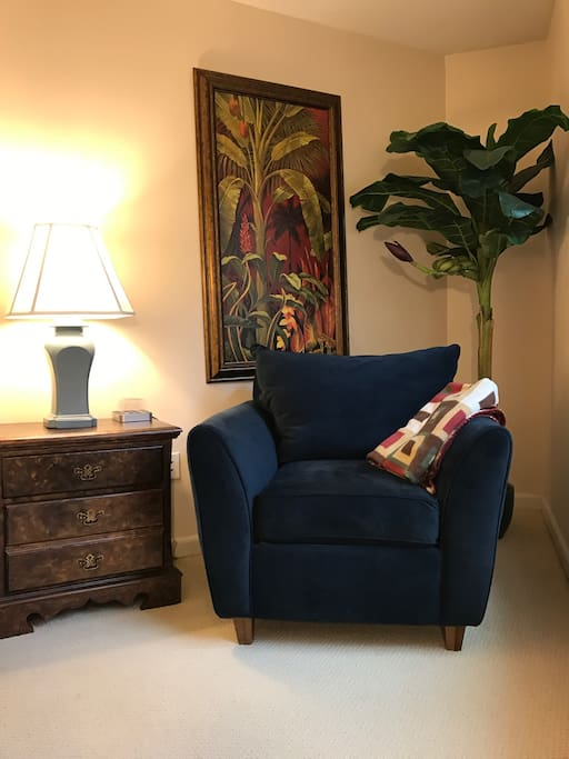 Master Bedroom #1 Reading Chair