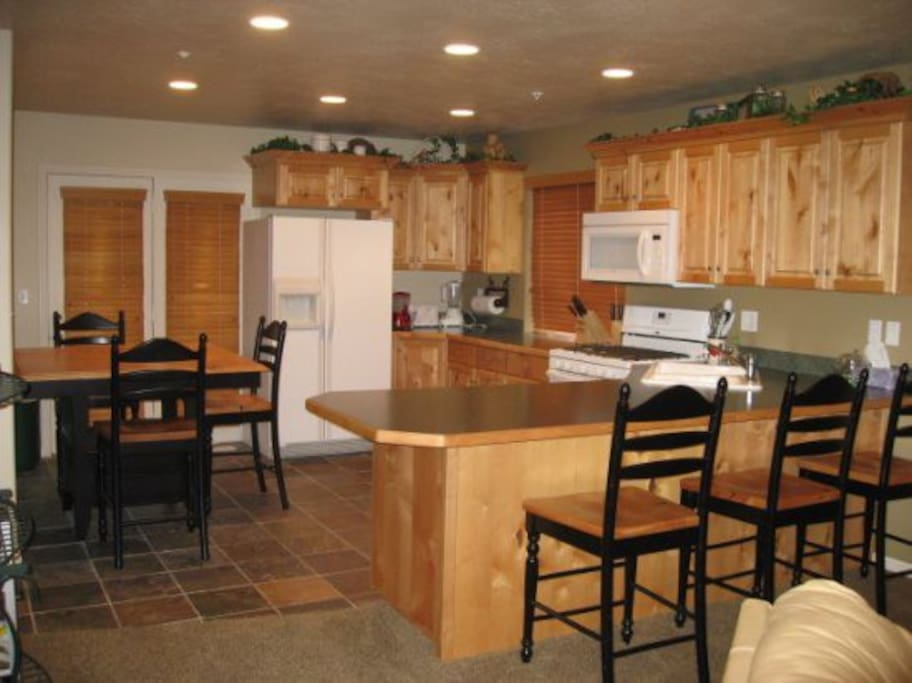 Main Floor - Dining and Kitchen