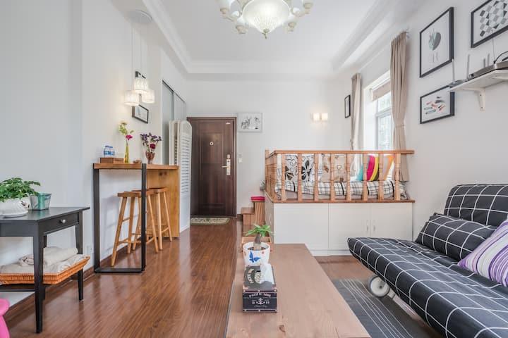 Changshu Road, sun room full rent, near Jing'an
