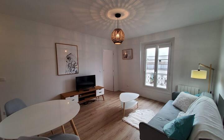 Appartement cosy centre-ville Paris