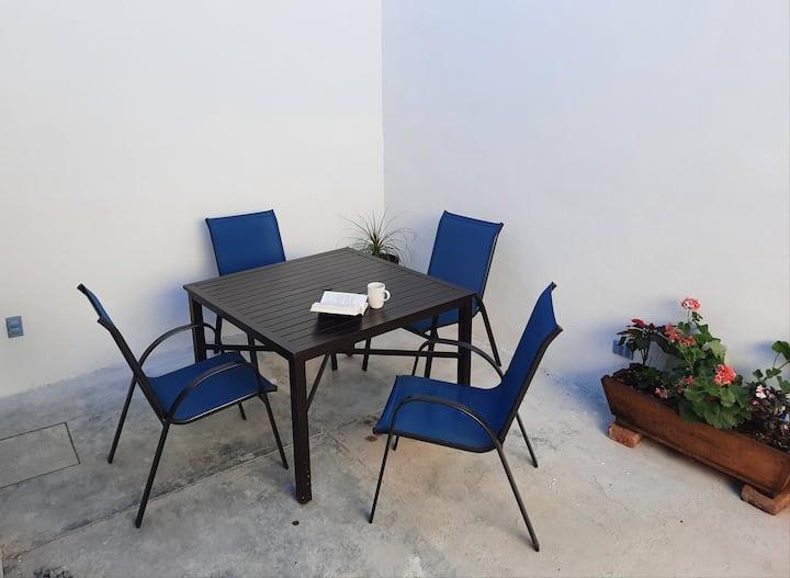 Home Office en CasaRomero. Te cuido y me cuido😷🥰