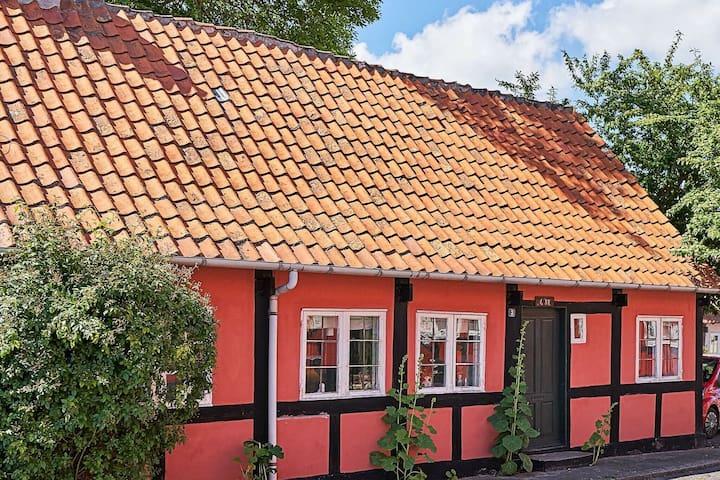 Ruim vakantiehuis in Bornholm met sauna
