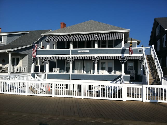 The Virginia Lee, a historic beachfront cottage
