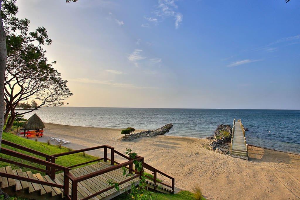 View from Beach Cabana