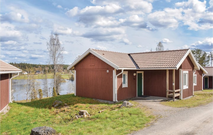 Amazing home in Hok with Sauna, WiFi and 1 Bedrooms