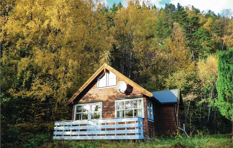 Holiday cottage with 2 bedrooms on 60m² in Vallavik