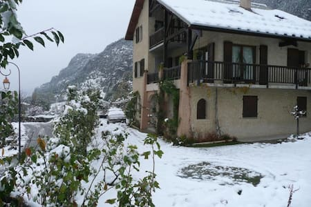Apartment with wonderful mountain view - Saint-Crepin