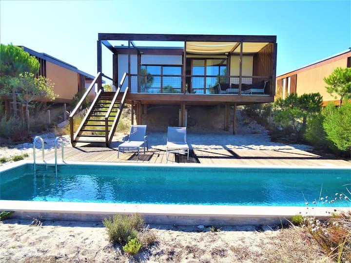 Troia Sunny Eco Beach Villa (near Comporta)
