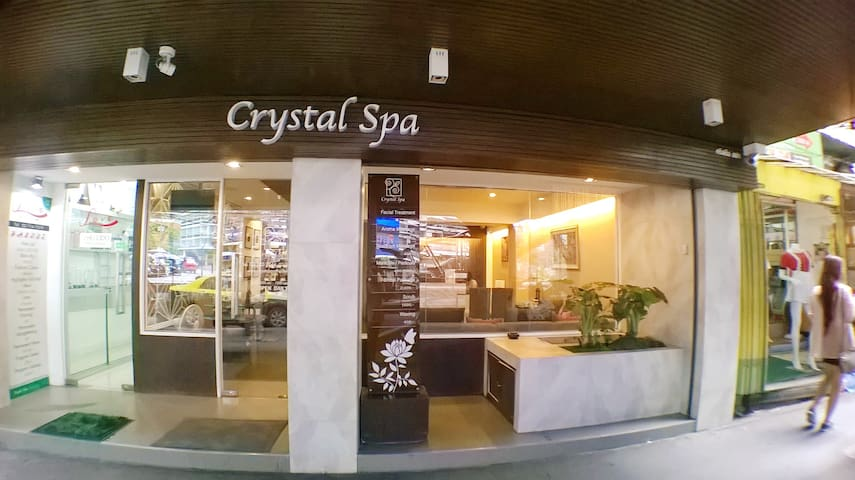 Enjoy and relax in a spa nearby