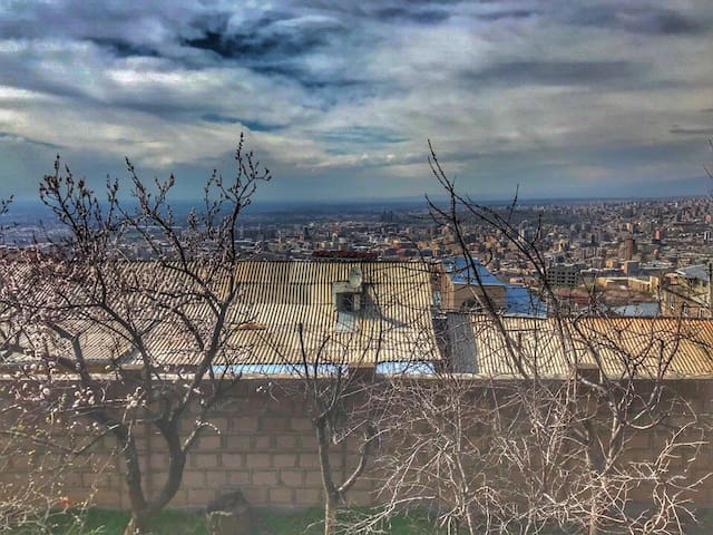 At the height of Yerevan