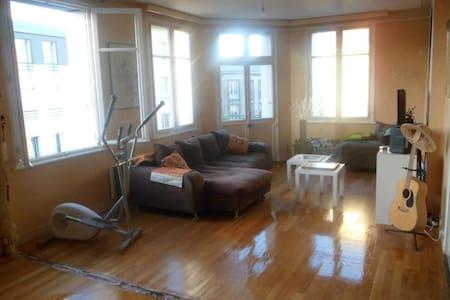 Chambre agréable dans appt 112 m2 rénove en cours - Brest - Lakás