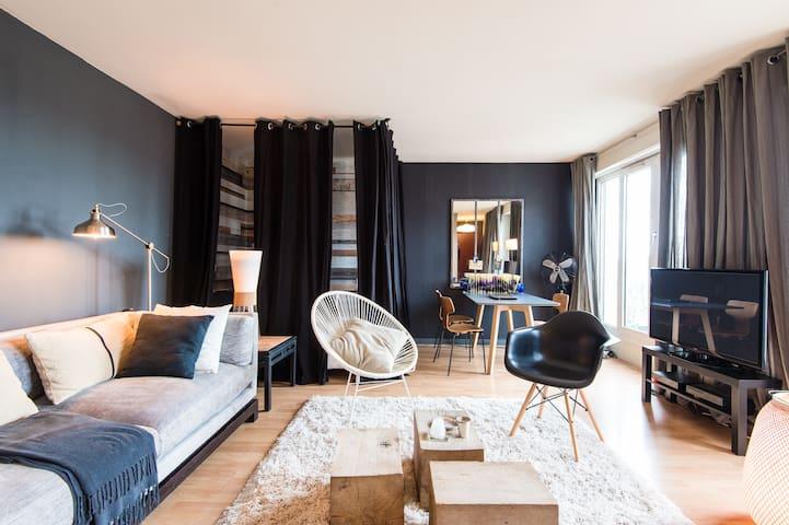 studio 38 m + terrasse  Vieux lille - Lille - Apartment