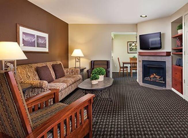 YosemiteBassLake2bdrmCondoFireplace - Bass Lake - Wohnung
