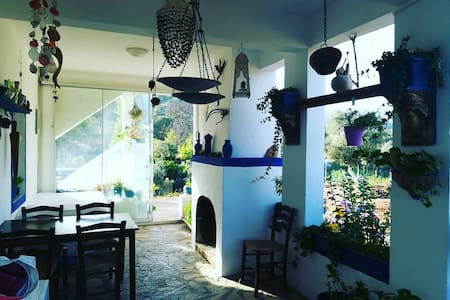 Village house Carian hiking point near Bodrum