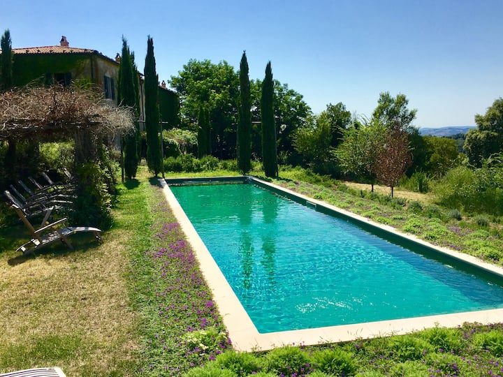 """An Ancient  """"Convento""""  in Tuscany now with Pool for a Great Holiday"""