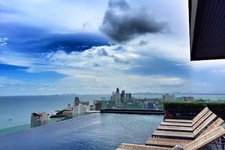 【Francis House 3-1】Garden View Condo in Pattaya - Muang Pattaya - アパート