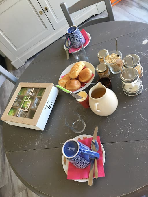 Petit déjeuner du matin
