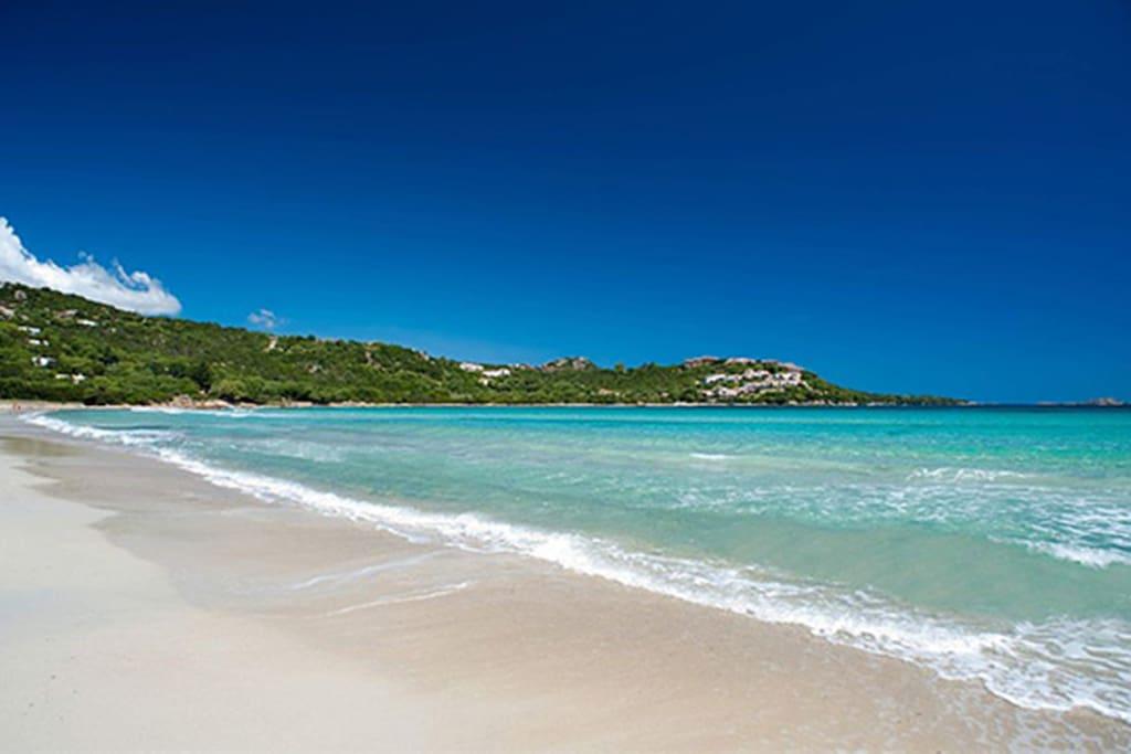La spiaggia di Marinella