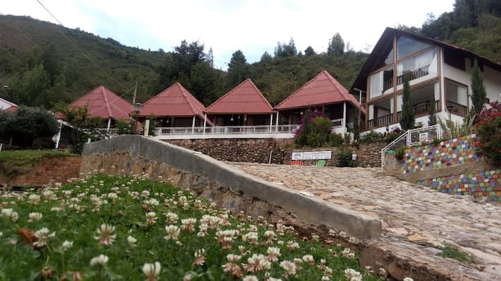 Cabaña Yarumal/Zipaquirá