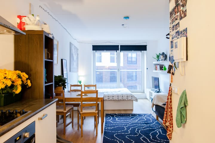 Amstel Apartment 6 stops to CS! - Amsterdam - Condominium