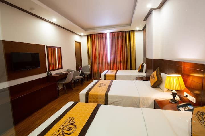 3-star hotel in Halong bay with 3 beds