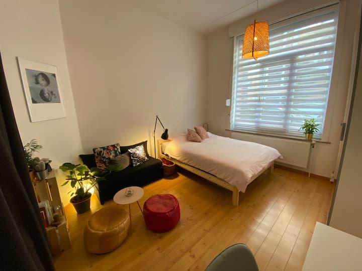 Cosy & clean studio in Saint-Gilles