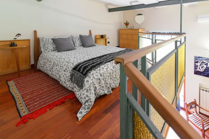 Principal bedroom with spacious double bed