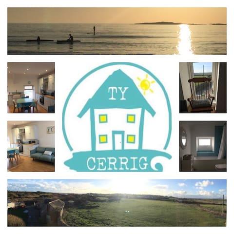 Ty Cerrig house Rhosneigr - apt 1A - Rhosneigr - Apartamento