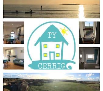 Ty Cerrig house Rhosneigr - apt 1A - Rhosneigr - 公寓