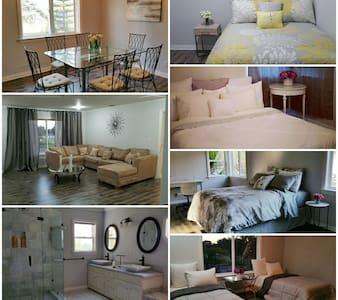Entire Elegant Home w/marble, 4 bedroom 2 bath - Hus