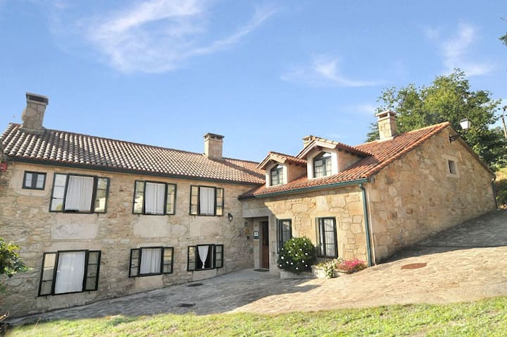 Casa rural a 6 k. de Santiago de Compostela