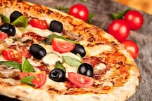 Try our delicious pizza