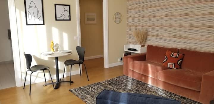 La Suite - 2 p. design - Plage & centre Deauville