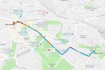 Directions to and from Sofia Center