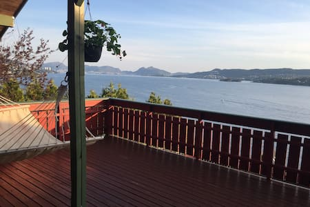 A room with view over the fjord! - Bergen
