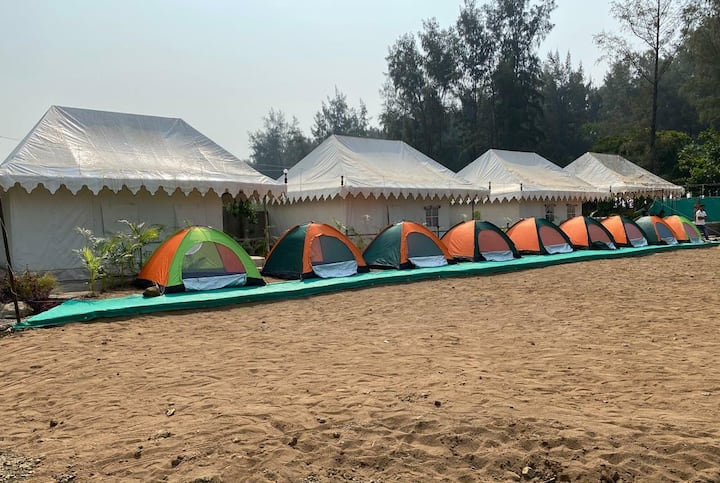 Red Stone Beach Resort ( Swiss Tents )