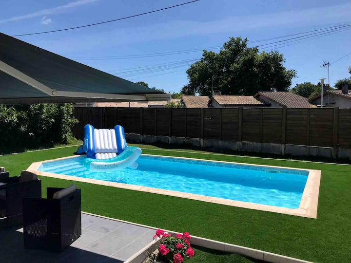 Villa/piscine bassin d'Arcachon