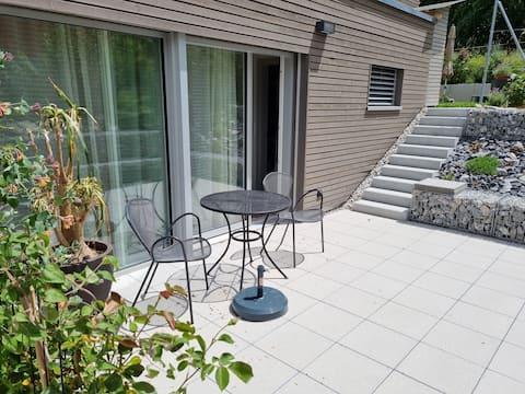 Studio Fribourg avec / mit terrasse