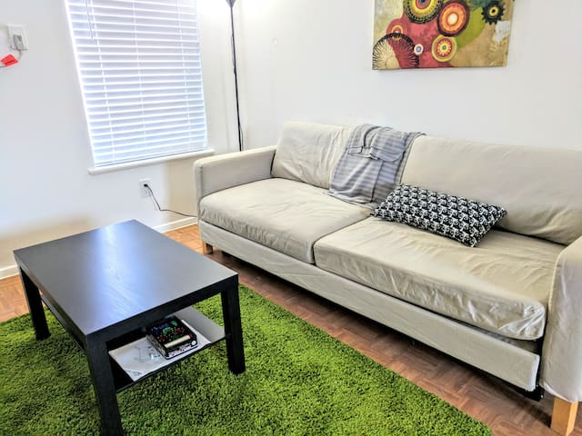 Thrifty & Functional 2BD private apt - AUS and DT